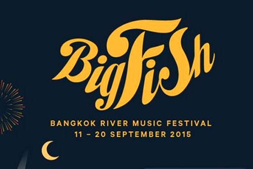 Poster from Big Fish festival