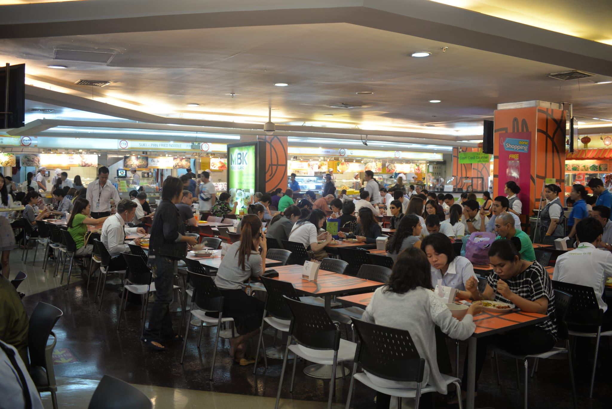 The best food courts in Bangkok