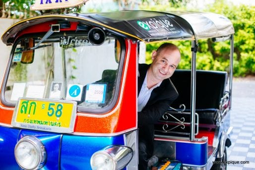 The smartest tuk tuk driver in Bangkok