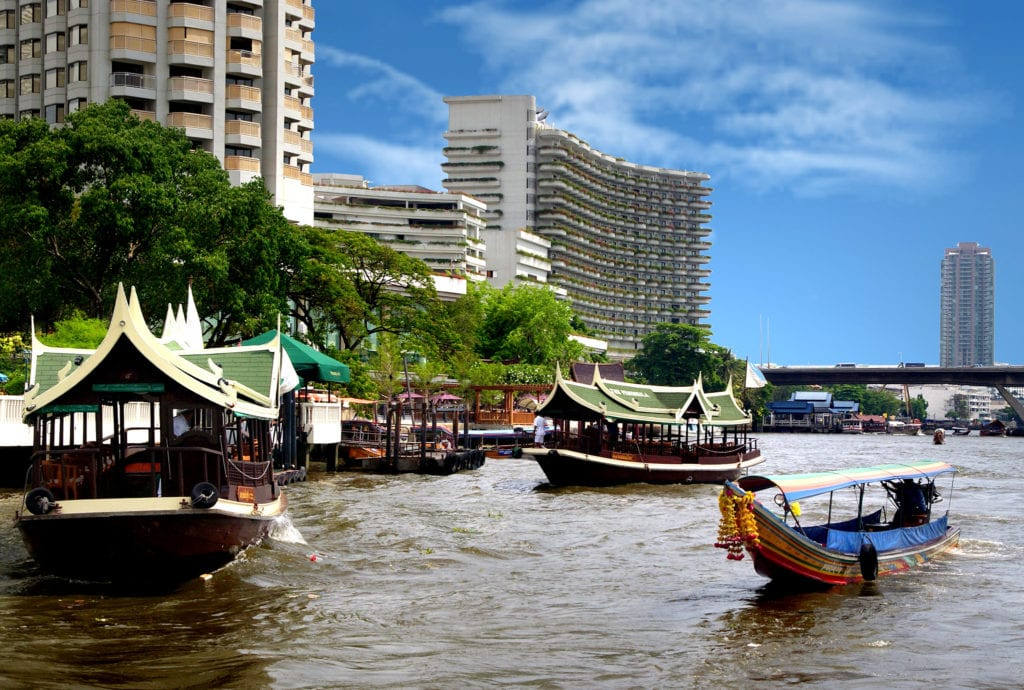 Riverside Bangkok, Thailand - photo by Bernard Spragg. NZ